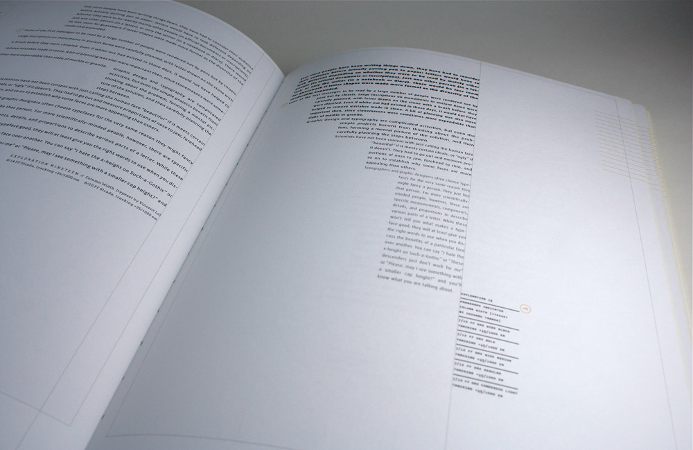 Explorations in Typography / Buy the book